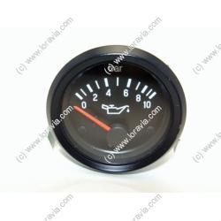 Indicateur Pression huile 0 - 10 Bars dia 52