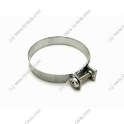 Collier 62 mm bride carburateur