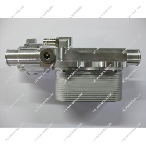 echangeur eau huile thermostat 3 voies moteurs ulm et pi ces d tach es. Black Bedroom Furniture Sets. Home Design Ideas